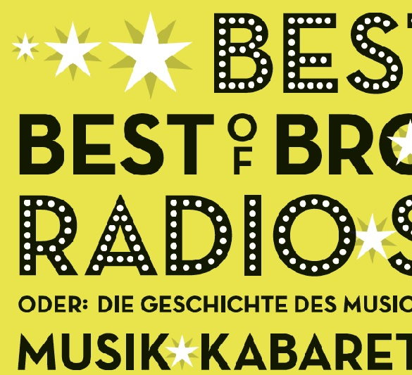 "Plakat ""Beste Best of Broadway Radio Show"""